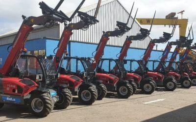 Balloo Hire add to their Weidemann Fleet